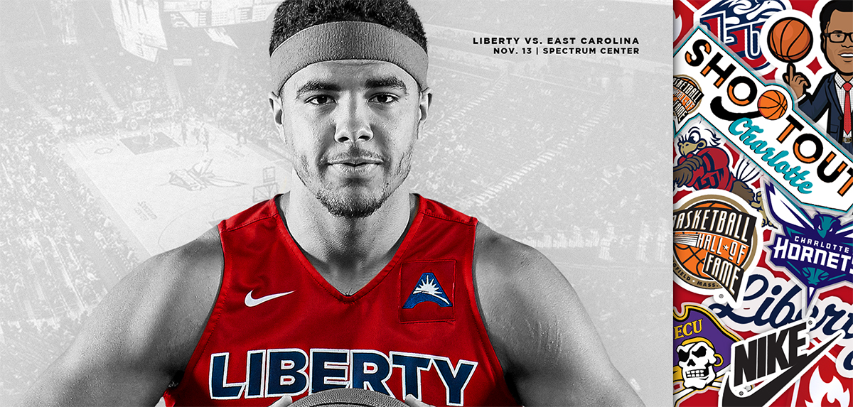 Liberty will play ECU on Nov. 13.