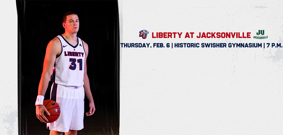 Liberty faces Jacksonville on Feb. 6.