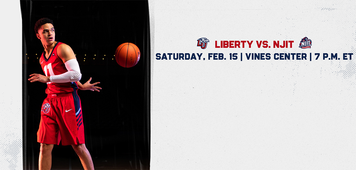 Liberty hosts NJIT on Feb. 15.
