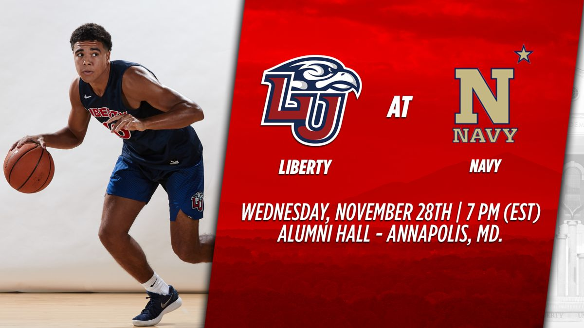 Liberty Travels to Naval Academy to Face the Midshipmen