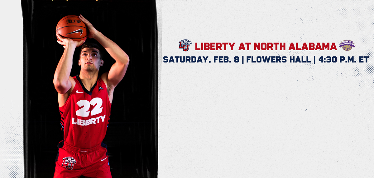 Liberty faces North Alabama on Feb. 8.