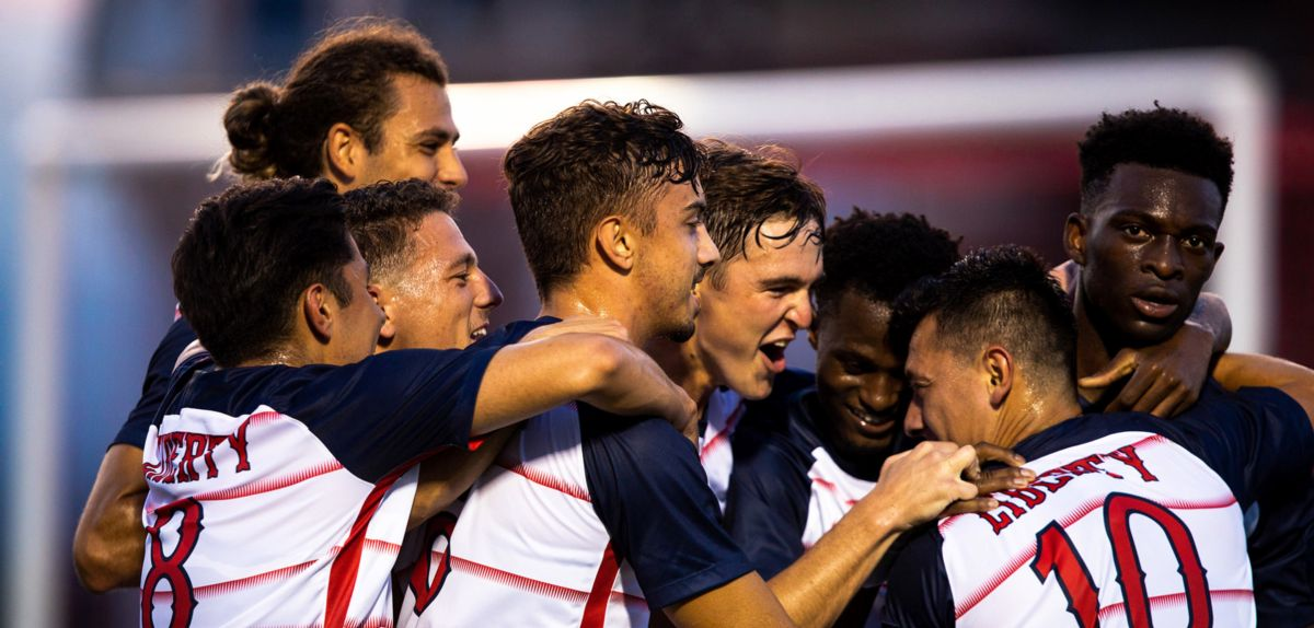Liberty Men's Soccer Returns to Atlantic Regional Poll