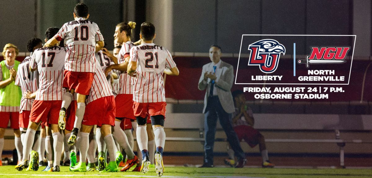 Liberty Men's Soccer to Open Season, Friday