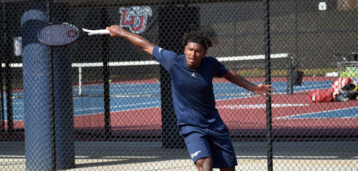 The Liberty University Invitational begins on Friday afternoon at the Cook Tennis Center.