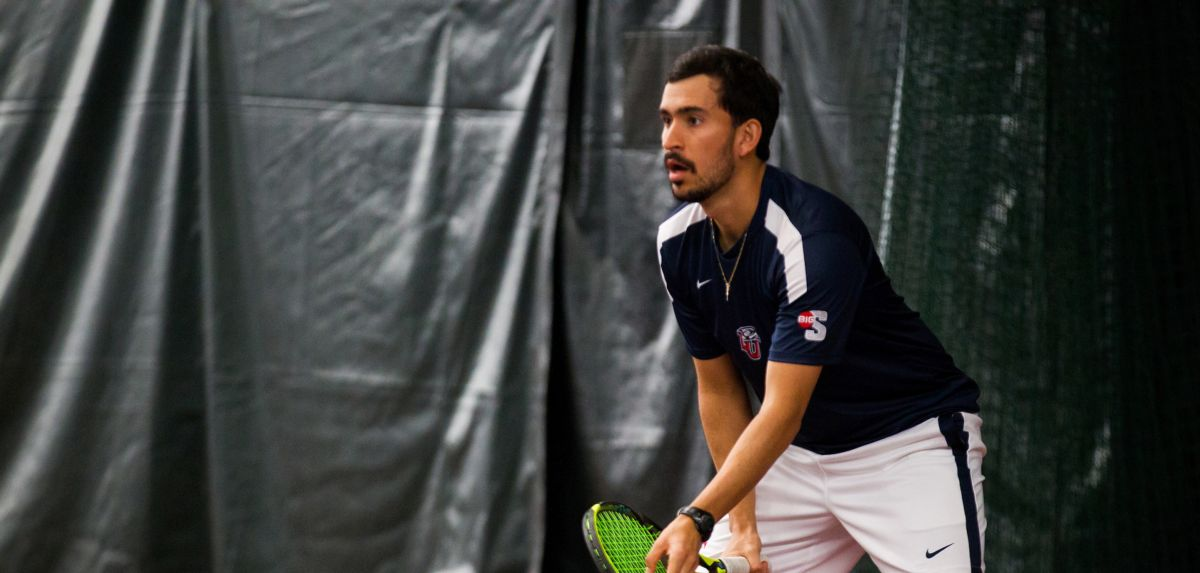 Senior Diego Castano and the Flames (7-6) will play at William & Mary on Saturday at 3 p.m.