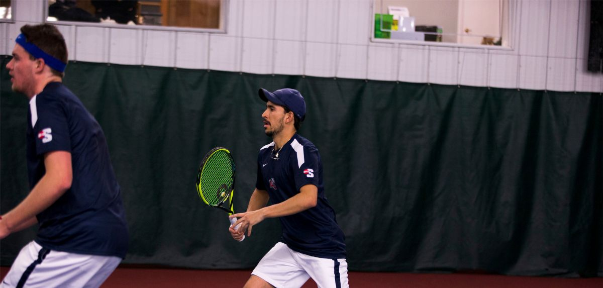 Poynter and Castano helped Liberty claim the doubles point on Friday night at Auburn.