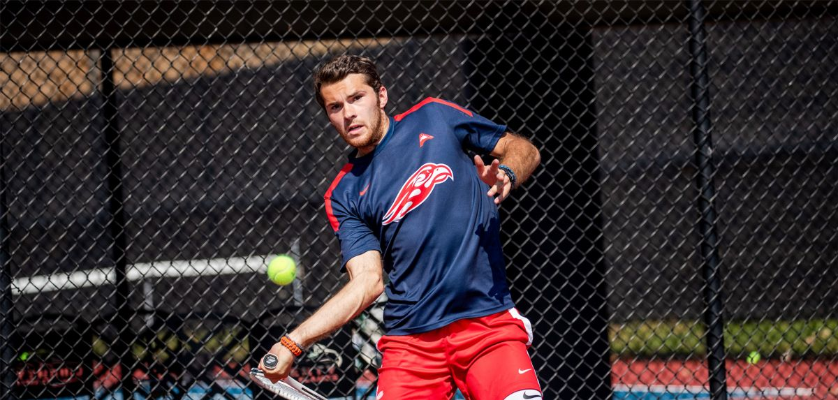Sturgill won in doubles and singles, Saturday at NJIT.
