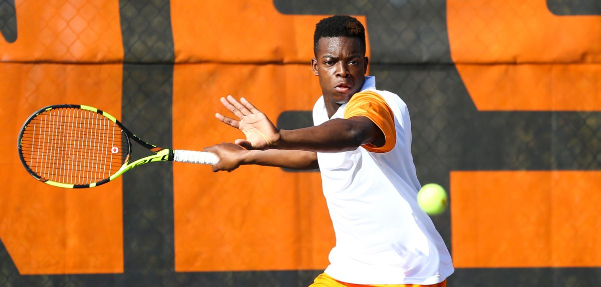 Muamba is set to compete for the Flames at the ITF Canada F6 Futures, starting Saturday. (Photo Credit: Tennessee Athletics)