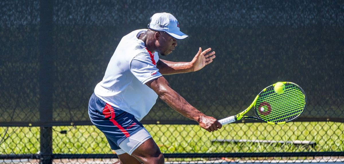 Muamba reached the doubles semifinals at the Granby Challenger.
