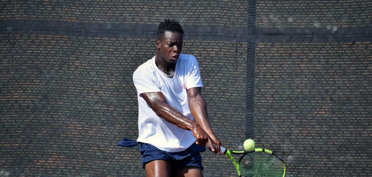 Muamba now has 28 career singles victories as a Liberty Flame.
