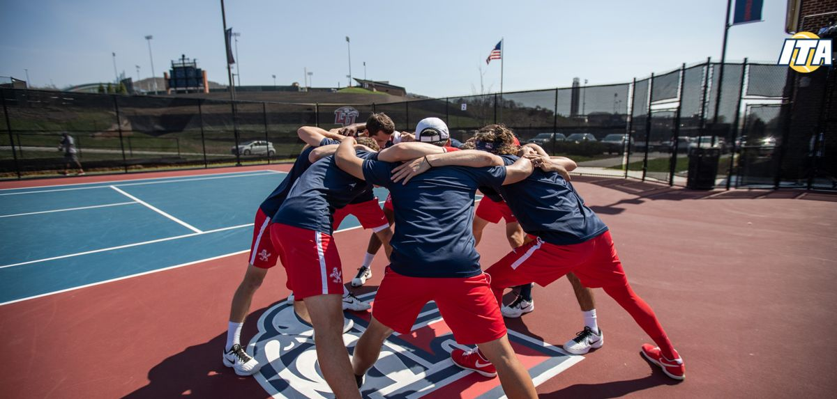 The Liberty Flames men's tennis team received the honor of 2019 ITA All-Academic Team and featured five ITA Scholar-Athletes.