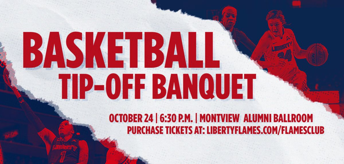 Tickets on Sale for Liberty Basketball Tip-Off Banquet