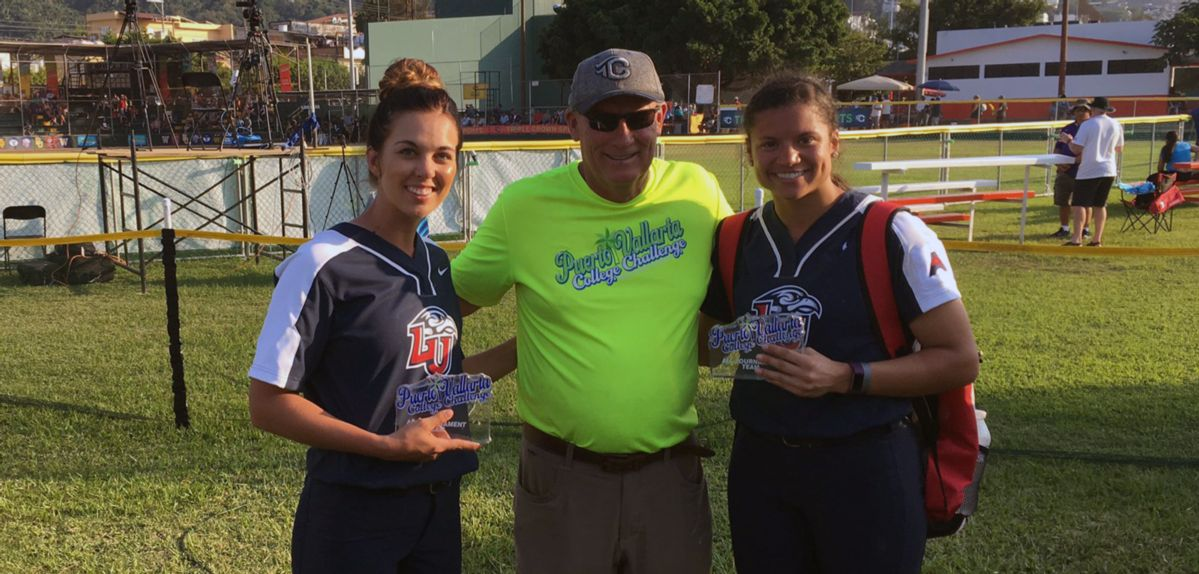 Jaclyn Amader and Madison Via were both named to the Puerto Vallarta College Challenge All-Tournament Team.