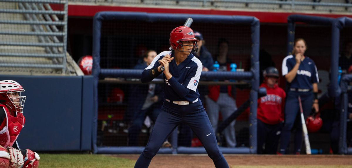 Jaclyn Amader scored the winning run in the ninth inning on Thursday against North Carolina.