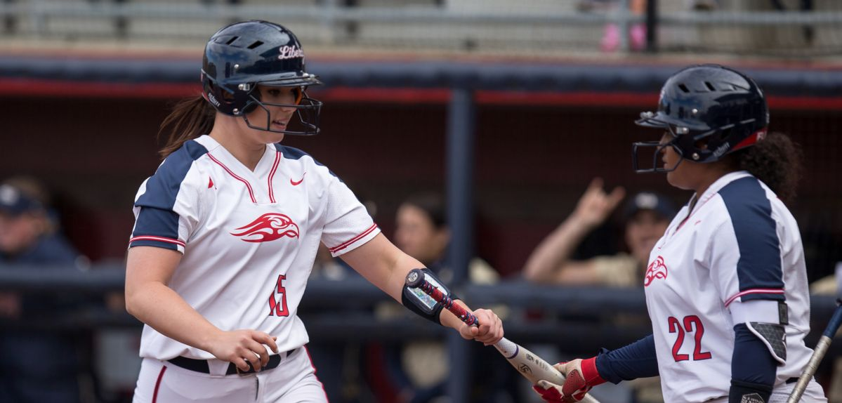 Kaitlin McFarland went 2-for-3 with one RBI on Sunday.