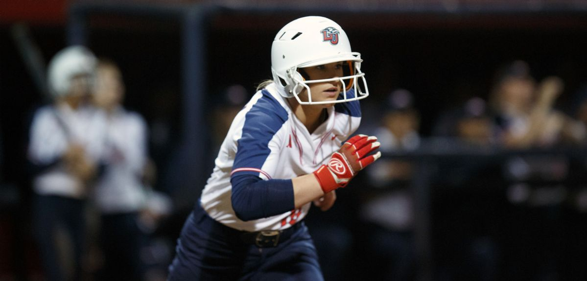 Kara Canetto had two hits on Saturday against Boston University.