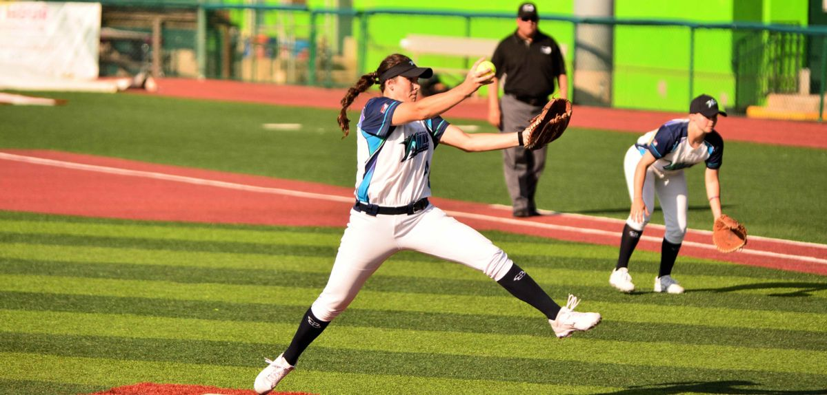 Kenzie Friesen played for the Canadian Wild of Southern Illinois in the NPF this summer.