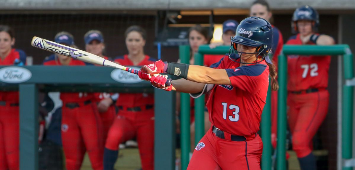 Madison Via hit her second career homer on Saturday against McNeese.