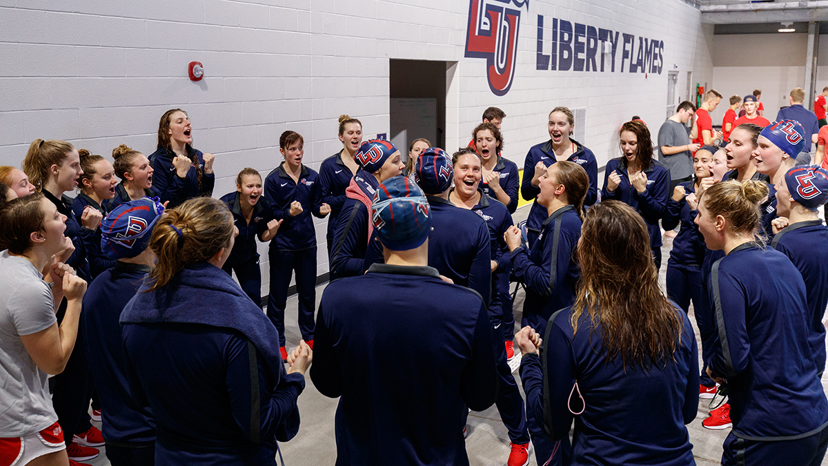 Liberty swimming & diving will compete in the state of Utah for the first time in program history, competing at BYU on Friday and Saturday.