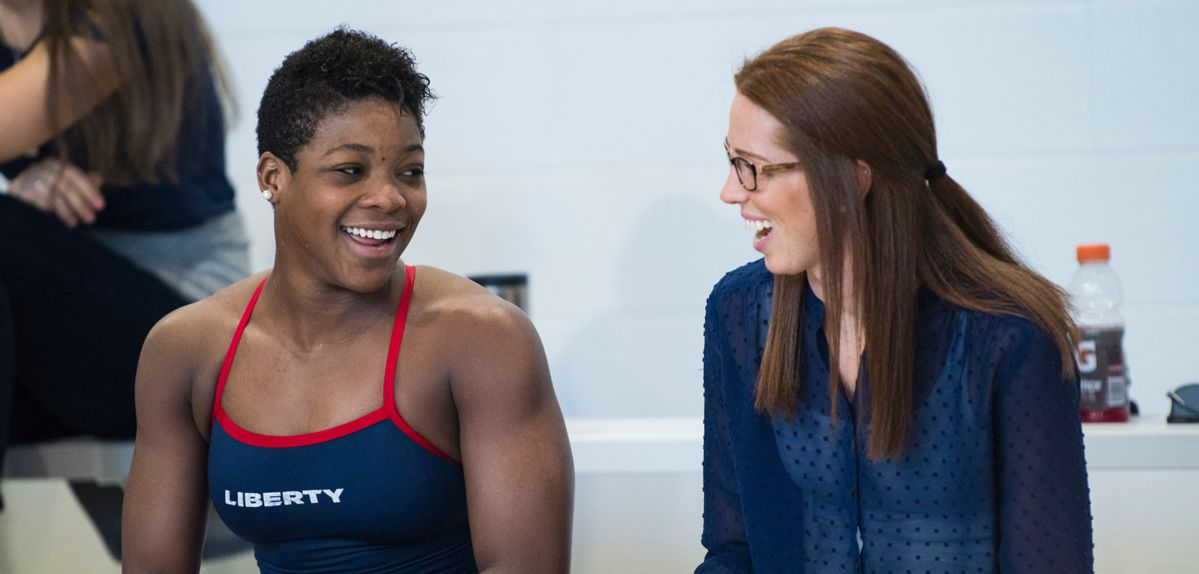 Jessica Barnes serves as Liberty's associate head coach for swimming & diving program.
