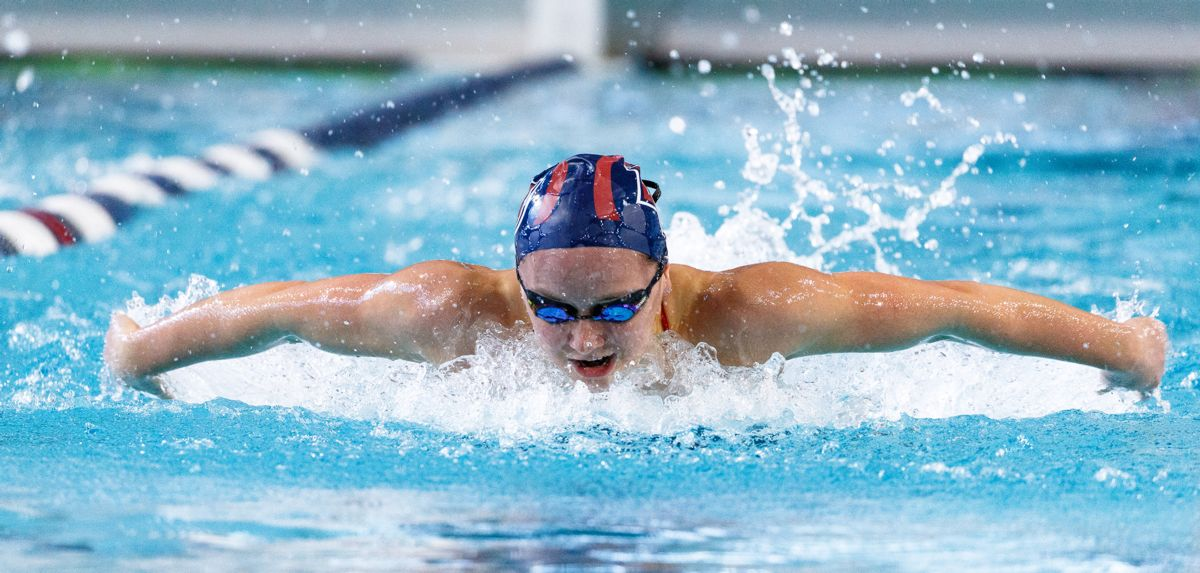 Lindsey Cohee tied for 42nd in the 200 meter butterfly at the 2019 Toyota U.S. Open.