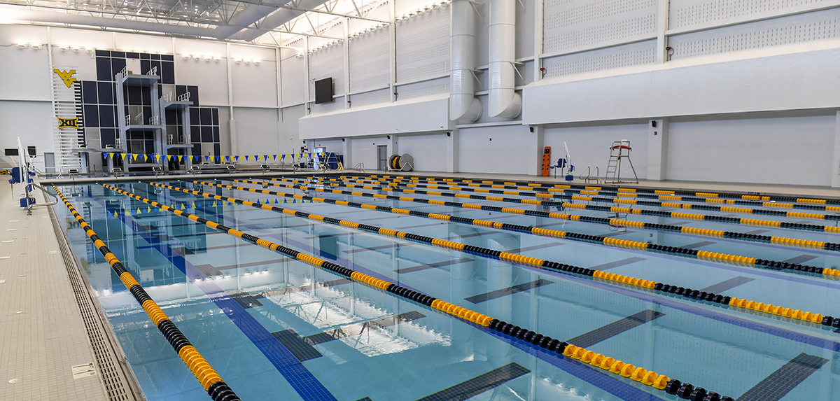 West Virginia's Aquatic Center at Mylan Park will host the 2020 NCAA Zone A Diving Championships