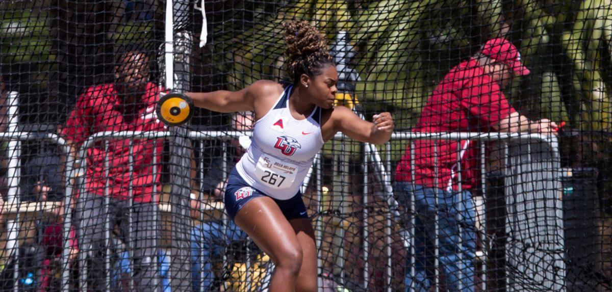 Chelsea Igberaese won Section B of the Texas Relays women's discus competition with a school-record 179-6 heave.