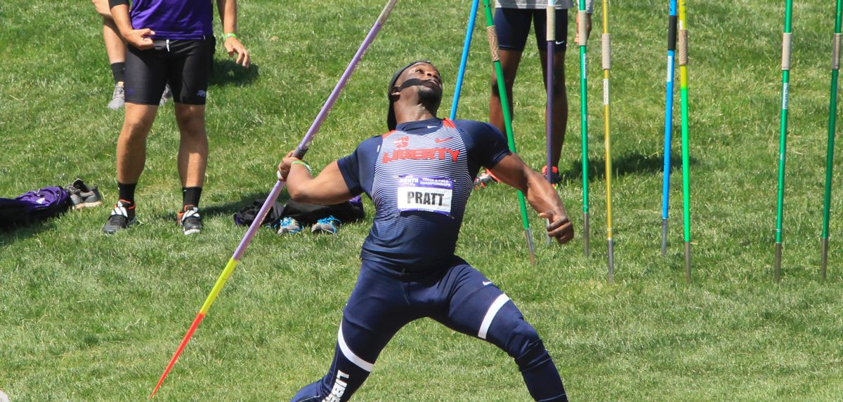 Denzel Pratt is one of the Flames' five first-time Eugene qualifiers.