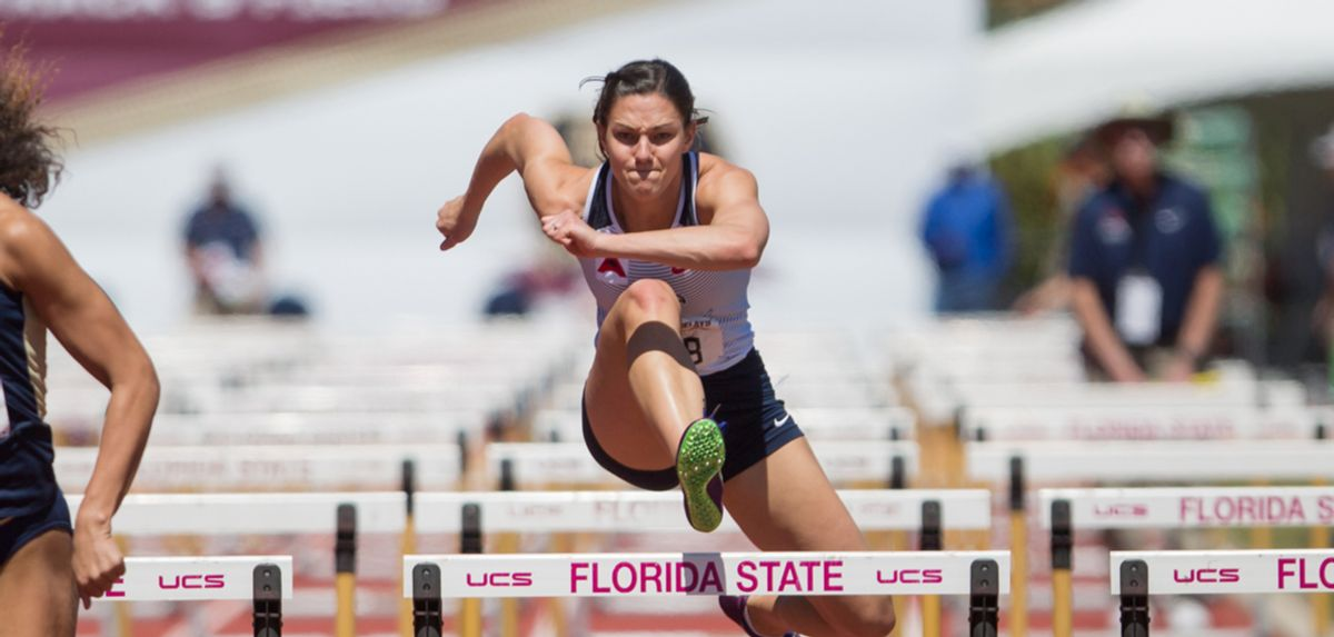 Polsgrove Sits 7th in Tennessee Relays Heptathlon