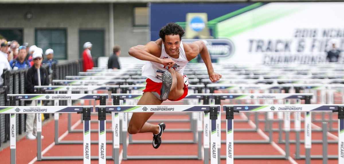 Markus Ballengee came in fifth in the USATF decathlon competition, which concluded Friday.