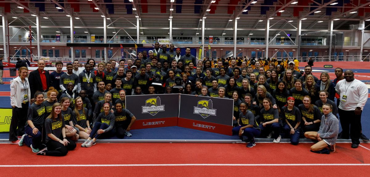 Flames, Lady Flames Claim Liberty's 1st-Ever ASUN Titles