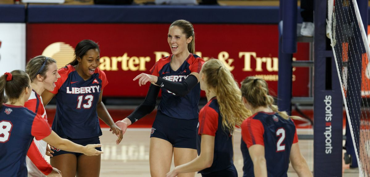 Lady Flames Down Jacksonville for 2nd Straight Sweep