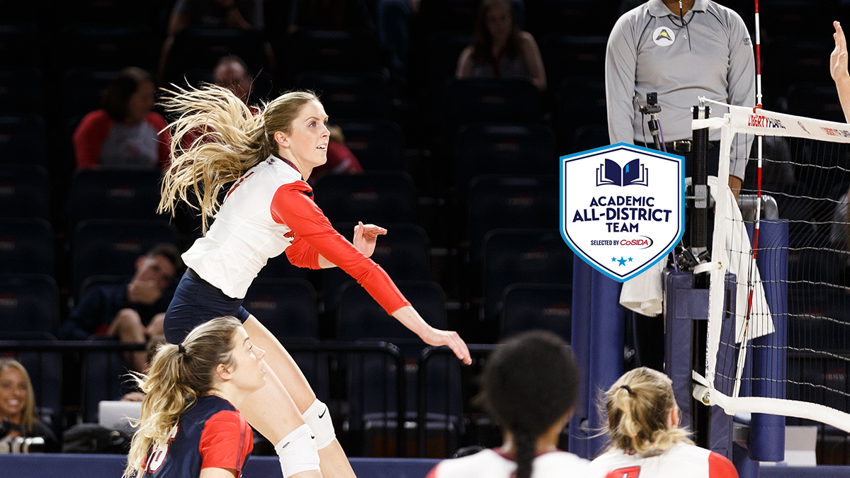 Amelia Johnson was named to the CoSIDA Academic All-District Volleyball Team®.