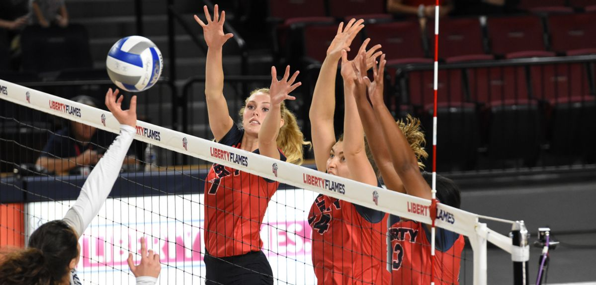 Liberty Posts 3rd Straight ASUN Sweep, 3-0 Over North Florida