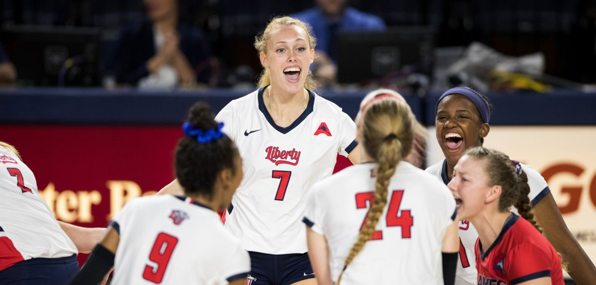 Liberty Volleyball to Begin ASUN Era in Jacksonville