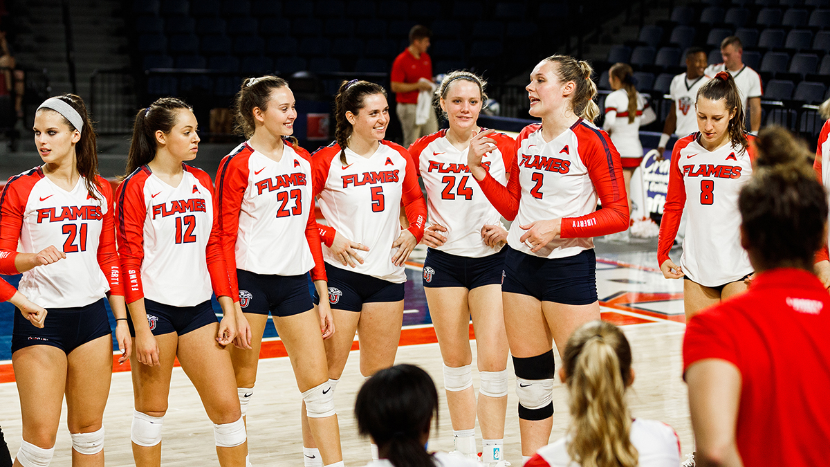 Liberty volleyball will play at North Florida on Sunday and at Stetson on Tuesday.