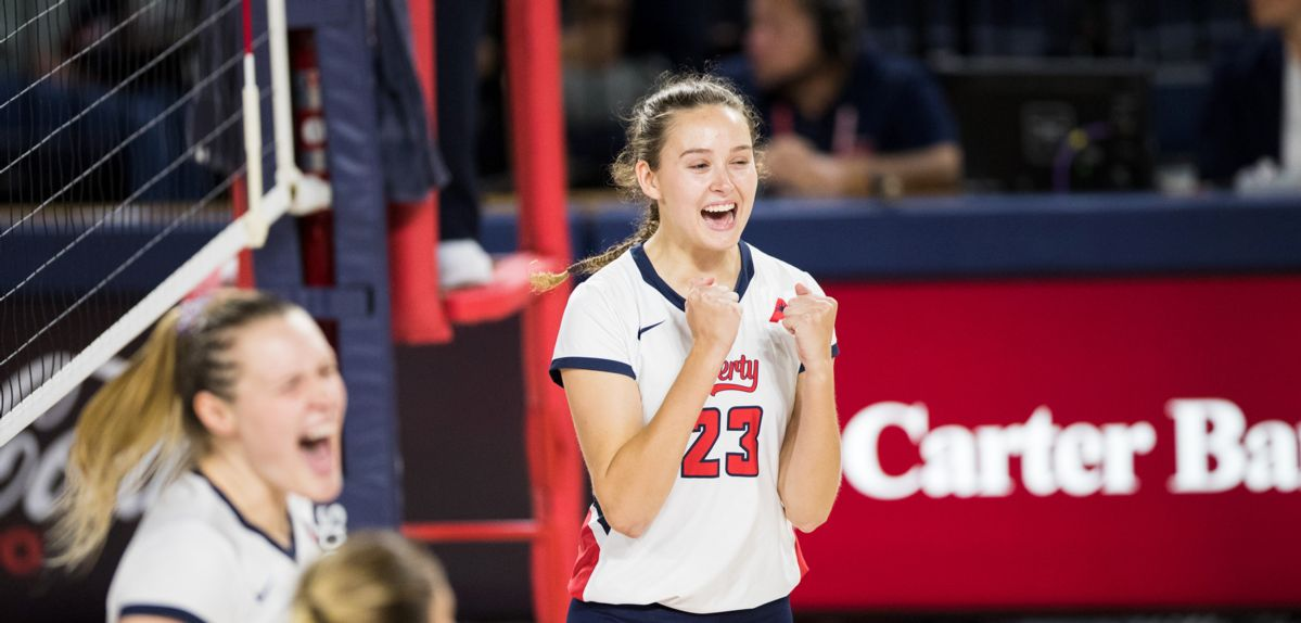 Jenna Culhan recorded her fourth straight double-digit kill match.