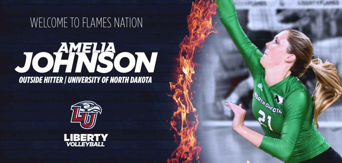 Amelia Johnson to Transfer to Liberty from North Dakota