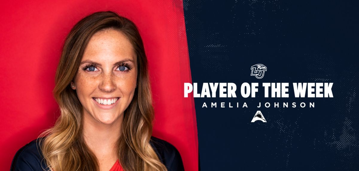 Amelia Johnson received her first career Player of the Week honor