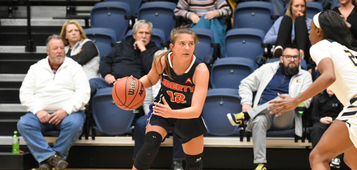 Ashtyn Baker scored a season-high 18 points and grabbed a career-high eight rebounds at ETSU.