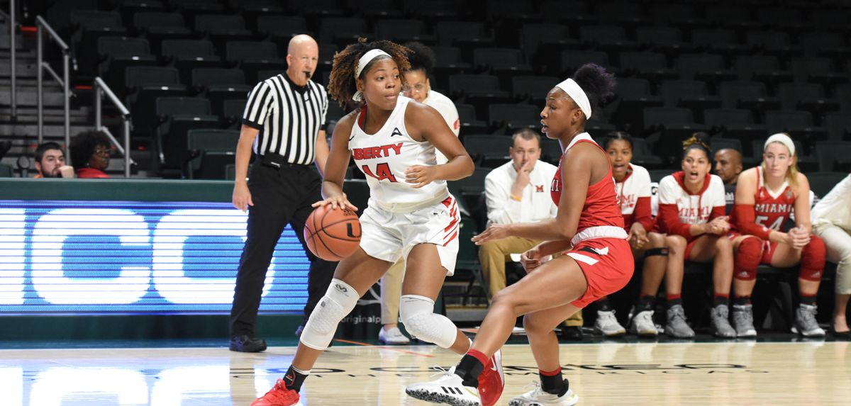 Making her first career start, Asia Todd scored 11 points during the Lady Flames' 65-53 triumph over Miami (Ohio).