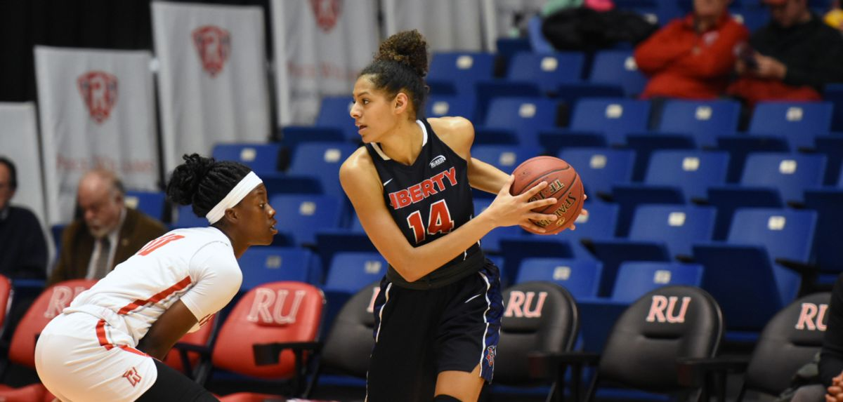 Lela Sellers scored nine points during the Lady Flames' 52-45 loss at Radford.