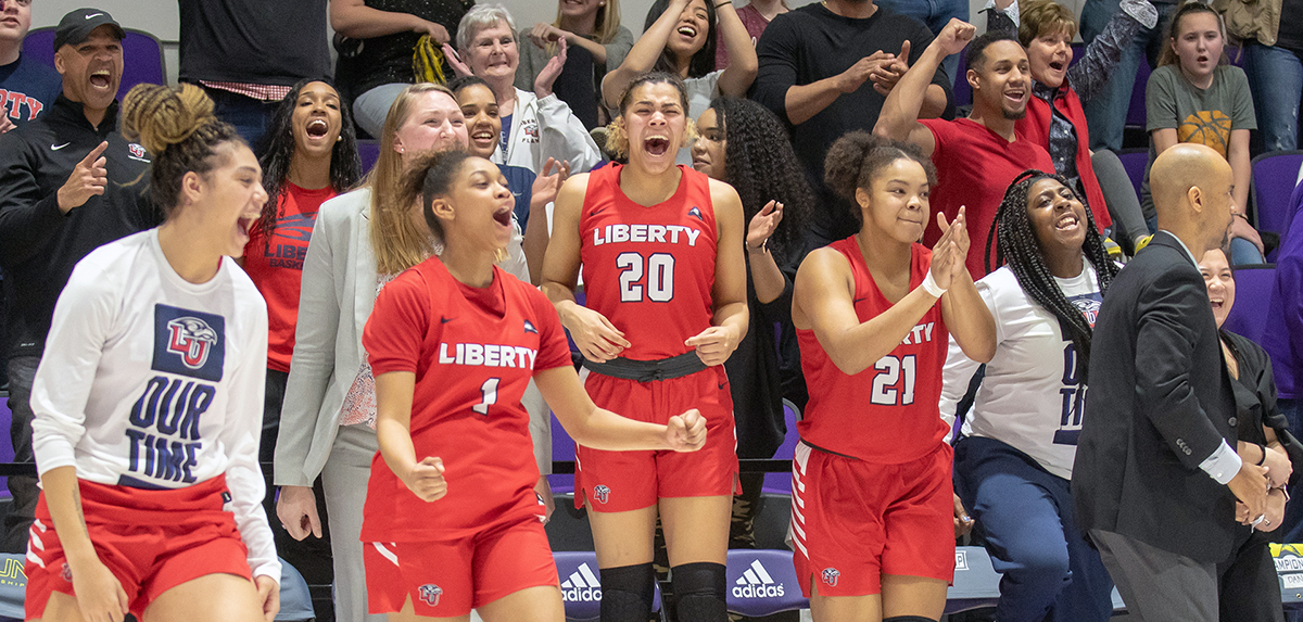 Liberty was named co-champions of the 2020 ASUN Women's Basketball Championship.