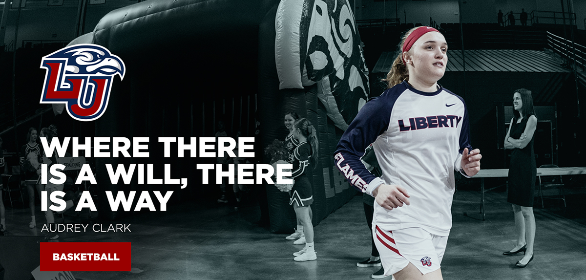 Audrey Clark went from walk-on to the starting lineup during her freshman season at Liberty.