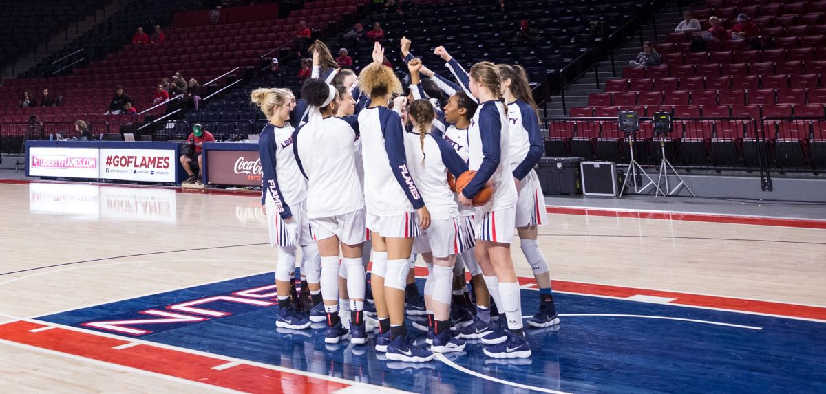 The Lady Flames will play their first home game in more than a month, Wednesday at 5 p.m. vs. West Chester.