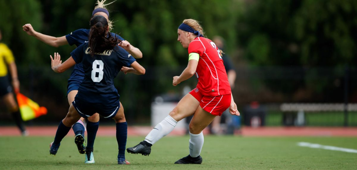 Women's Soccer Falls to George Washington in OT