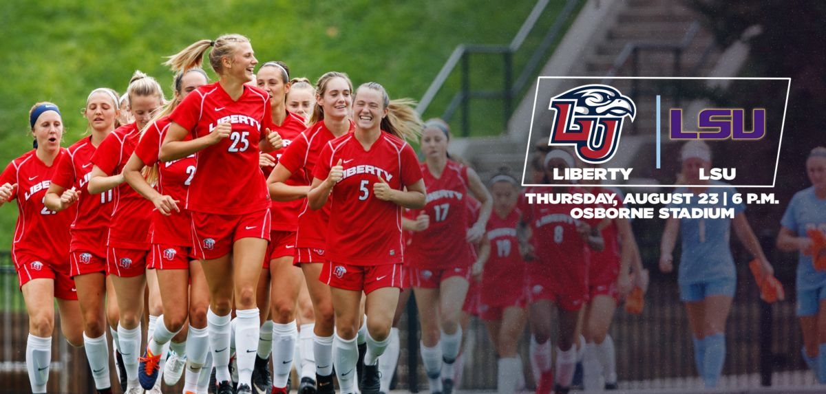 Liberty Hosts SEC Opponent LSU at Osborne Stadium