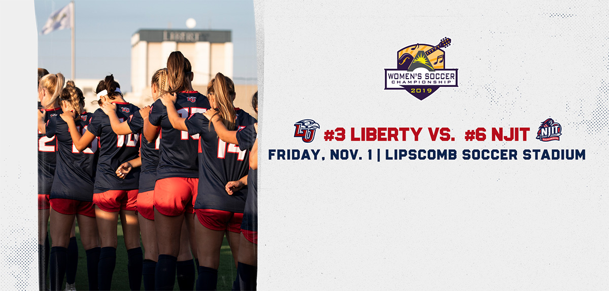 Liberty Faces NJIT in ASUN Championship Quarterfinals