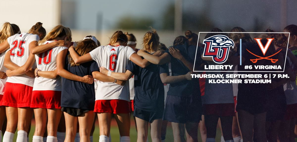 Liberty Faces No. 6 Virginia on the Road