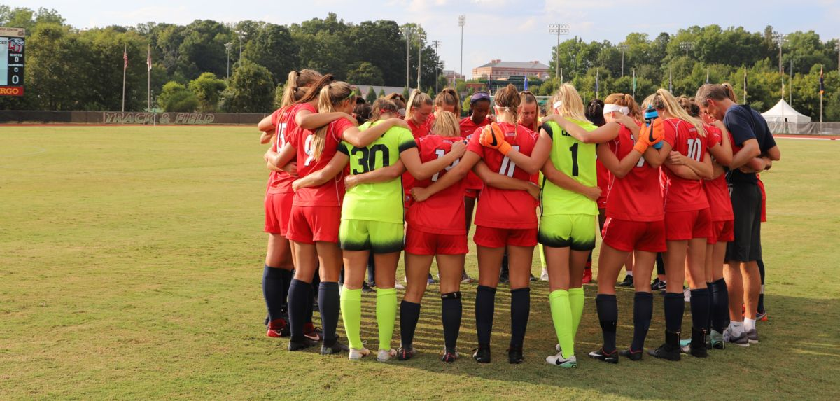 Women's Soccer Game at Charlotte Cancelled Due to Weather Conditions